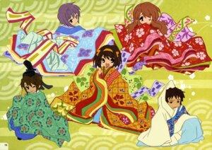 Rating: Safe Score: 18 Tags: asahina_mikuru chibi japanese_clothes kimono koizumi_itsuki kyon nagato_yuki suzumiya_haruhi suzumiya_haruhi_no_yuuutsu User: Radioactive
