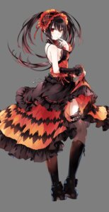 Rating: Questionable Score: 154 Tags: date_a_live dress gothic_lolita heels heterochromia lolita_fashion skirt_lift thighhighs tokisaki_kurumi transparent_png tsunako User: todetermine