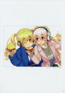Rating: Questionable Score: 9 Tags: headphones nitroplus sonico super_pochaco super_sonico tsuji_santa User: Radioactive