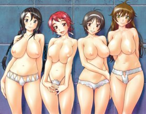Rating: Questionable Score: 31 Tags: cameltoe crease fixme fukudahda nipples pantsu topless User: DLS84