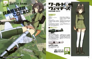 Rating: Questionable Score: 9 Tags: animal_ears gun katou_takeko pantsu shimada_humikane strike_witches tail thighhighs uniform User: drop