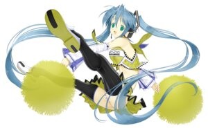 Rating: Questionable Score: 24 Tags: cheerleader hatsune_miku nakaba_reimei pantsu shimapan thighhighs vocaloid User: Radioactive