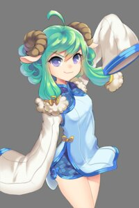 Rating: Safe Score: 24 Tags: animal_ears chinadress dakun horns soccer_spirits transparent_png xiao_lang User: charunetra