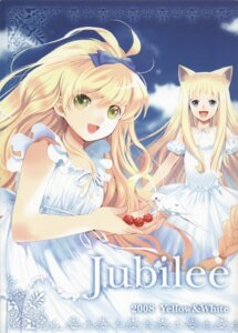 Rating: Safe Score: 8 Tags: animal_ears dress miyama_waka nekomimi summer_dress User: Radioactive