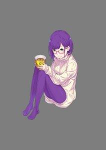 Rating: Safe Score: 11 Tags: koitsura_girls megane ootsuka_shinichirou pantyhose sweater transparent_png User: saemonnokami