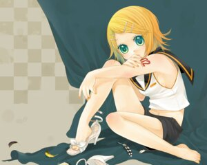 Rating: Safe Score: 4 Tags: kagamine_rin nemutagari vocaloid User: Radioactive