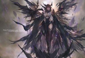 Rating: Safe Score: 44 Tags: cleavage horns no_bra pixiv_fantasia pixiv_fantasia_last_saga swd3e2 thighhighs wings User: RyuZU