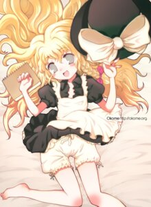 Rating: Safe Score: 13 Tags: bloomers feet kirisame_marisa okome_(ricecandy) touhou User: Radioactive