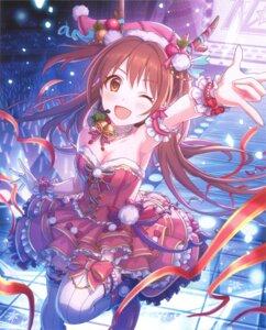 Rating: Safe Score: 11 Tags: christmas cleavage dress garter horns no_bra princess_connect sakurai_nozomi tagme thighhighs User: edh111