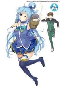 Rating: Safe Score: 43 Tags: aqua_(kono_subarashii_sekai_ni_shukufuku_wo!) digital_version heels kono_subarashii_sekai_ni_shukufuku_wo! mishima_kurone satou_kazuma thighhighs User: Twinsenzw