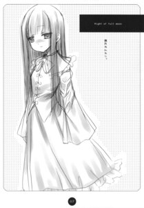 Rating: Safe Score: 6 Tags: hinayuki_usa houraisan_kaguya monochrome touhou User: ieiediediedie
