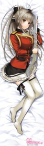 Rating: Safe Score: 134 Tags: amagi_brilliant_park dakimakura gun nakajima_yuka sento_isuzu thighhighs uniform User: DDD
