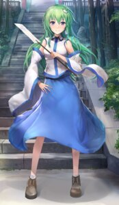 Rating: Safe Score: 27 Tags: kochiya_sanae tagme touhou User: Mr_GT