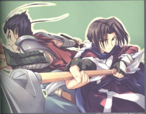 Rating: Safe Score: 1 Tags: amaduyu_tatsuki benawi binding_discoloration kurou male utawarerumono User: Riven