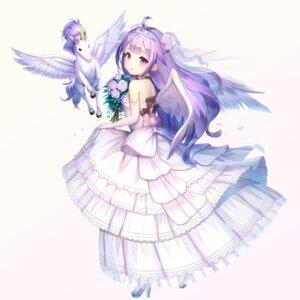 Rating: Safe Score: 55 Tags: azur_lane dress heels tagme teratsu unicorn_(azur_lane) wedding_dress wings User: Nepcoheart