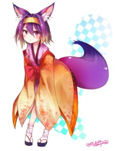 Rating: Safe Score: 67 Tags: animal_ears haegiwa hatsuse_izuna kimono no_game_no_life tail User: KazukiNanako