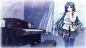 Rating: Safe Score: 48 Tags: kurugaya_yuiko little_busters! moonknives no_bra seifuku thighhighs wallpaper User: fairyren