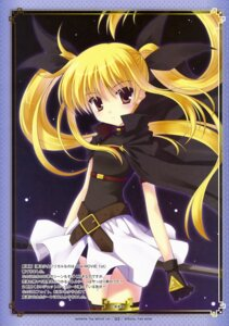 Rating: Safe Score: 22 Tags: fate_testarossa mahou_shoujo_lyrical_nanoha mahou_shoujo_lyrical_nanoha_the_movie_1st nanao_naru paper_texture thighhighs User: Share