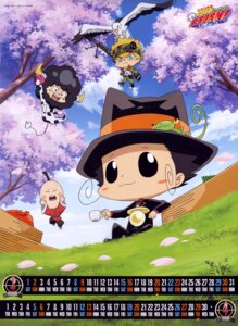 Rating: Safe Score: 2 Tags: calendar chibi colonnello i-pin katekyo_hitman_reborn! lambo male reborn screening User: charunetra