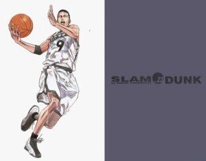 Rating: Safe Score: 4 Tags: basketball inoue_takehiko slam_dunk User: 落油Я