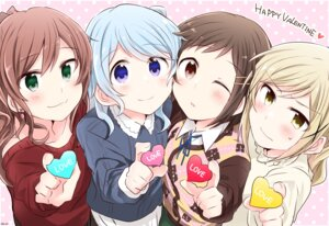 Rating: Safe Score: 15 Tags: bang_dream! sweater valentine yasaka_shuu User: saemonnokami