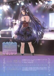 Rating: Safe Score: 76 Tags: dress gothic_lolita headphones kamisama_no_memochou kishida_mel lolita_fashion shionji_yuuko User: fireattack