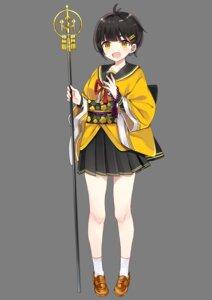 Rating: Safe Score: 19 Tags: japanese_clothes onsen_musume seifuku shijima_(sjmr02) shionoe_shuuko transparent_png weapon User: saemonnokami