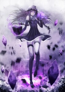 Rating: Safe Score: 69 Tags: patchouli_knowledge sola7764 thighhighs touhou User: Radioactive