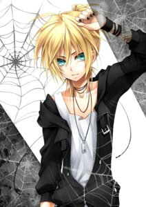Rating: Safe Score: 10 Tags: kagamine_len male ueno_tsuki vocaloid User: charunetra