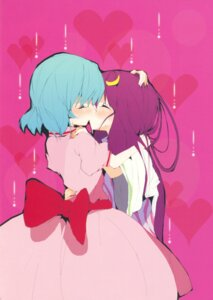 Rating: Safe Score: 15 Tags: patchouli_knowledge remilia_scarlet touhou tsuki_yuuhi yuri User: Radioactive