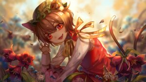 Rating: Safe Score: 13 Tags: animal_ears chen tail touhou ze_xia User: Mr_GT