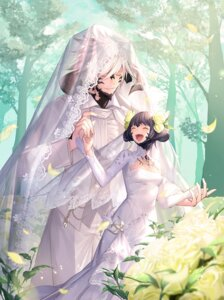 Rating: Safe Score: 6 Tags: dress final_fantasy final_fantasy_xiv horns tagme wedding_dress User: Mr_GT