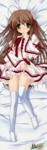 Rating: Questionable Score: 53 Tags: dakimakura fixed hinoue_itaru kanbe_kotori key pantsu rewrite seifuku thighhighs User: DDD