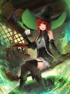 Rating: Safe Score: 28 Tags: crystalherb stockings thighhighs witch User: Mr_GT