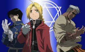 Rating: Safe Score: 3 Tags: edward_elric fullmetal_alchemist male oguri_hiroko roy_mustang scar User: charunetra