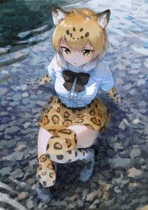 Rating: Safe Score: 48 Tags: animal_ears jaguar_(kemono_friends) kemono_friends thighhighs treeware wet User: Mr_GT