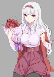 Rating: Safe Score: 33 Tags: morinomeo pantyhose shijou_takane the_idolm@ster User: charunetra