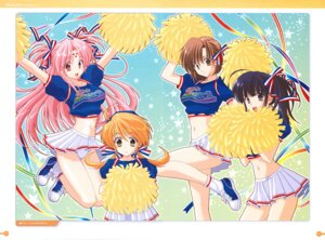 Rating: Questionable Score: 8 Tags: cheerleader girls_bravo hare_nanaka_koyomi kojima_kirie lana_jude_tomoka mario_kaneda miharu_sena_kanaka pantsu skirt_lift User: Animax_Rules