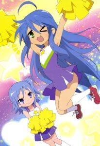 Rating: Safe Score: 35 Tags: cheerleader izumi_konata lucky_star miyakawa-ke_no_kuufuku miyakawa_hikage shibuya_sakae User: drop