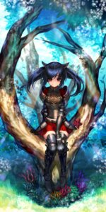 Rating: Safe Score: 49 Tags: animal_ears armor black_joa thighhighs User: nphuongsun93
