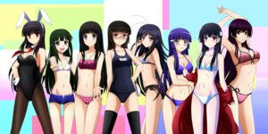 Rating: Questionable Score: 146 Tags: accel_world animal_ears aoki_reika bikini bunny_ears bunny_girl chitanda_eru cleavage crossover hanaki_yuka hyouka kanoe_yuuko kenken kore_wa_zombie_desu_ka kurihara_chiaki kuroyukihime megane mouretsu_pirates natsuiro_kiseki pantyhose pretty_cure sankarea sanka_rea sarasvati school_swimsuit smile_precure! swimsuits tasogare_otome_x_amnesia thighhighs User: 椎名深夏