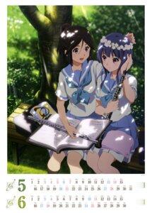 Rating: Safe Score: 49 Tags: calendar hibike!_euphonium kasaki_nozomi seifuku yoroizuka_mizore User: drop
