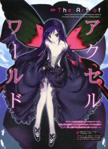 Rating: Questionable Score: 32 Tags: accel_world hima kuroyukihime wings User: fireattack