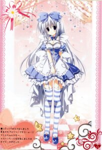 Rating: Safe Score: 35 Tags: alice_(korie_riko) cleavage dress korie_riko lolita_fashion stockings thighhighs User: Share