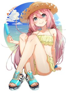 Rating: Safe Score: 53 Tags: bikini kagamihara_nadeshiko mugcup swimsuits tagme yurucamp User: Spidey