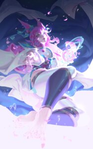 Rating: Safe Score: 19 Tags: ahri animal_ears atomicxx feet japanese_clothes league_of_legends thighhighs User: Mr_GT