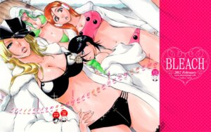 Rating: Questionable Score: 18 Tags: bikini bleach calendar cleavage inoue_orihime kubo_tite kuchiki_rukia matsumoto_rangiku neliel_tu_oderschvank swimsuits wallpaper User: Communist