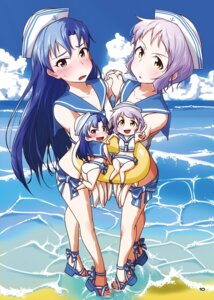 Rating: Safe Score: 5 Tags: ass chibi digital_version heels kisaragi_chihaya makabe_mizuki swimsuits tagme the_idolm@ster the_idolm@ster_million_live! wet User: Radioactive