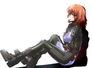Rating: Questionable Score: 19 Tags: anett_hosenfeld bodysuit erect_nipples genya_(genya67) muvluv muvluv_alternative schwarzesmarken User: charunetra