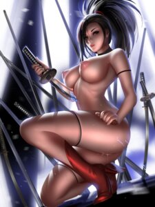 Rating: Explicit Score: 51 Tags: boku_no_hero_academia heels liang_xing naked nipples pussy pussy_juice sword thighhighs weapon yaoyorozu_momo User: Darkthought75